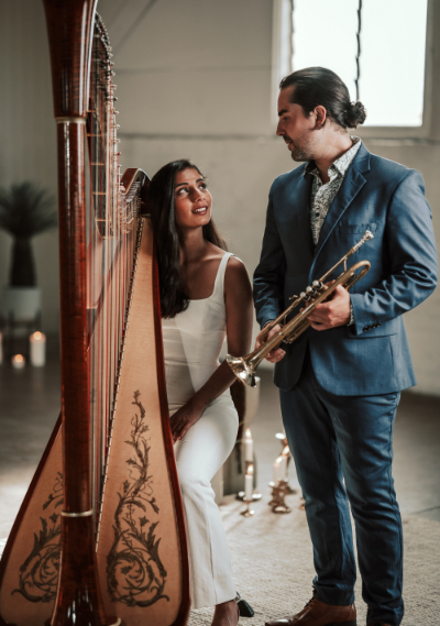 Harp Beat Wedding Harp Duo Hey Jack