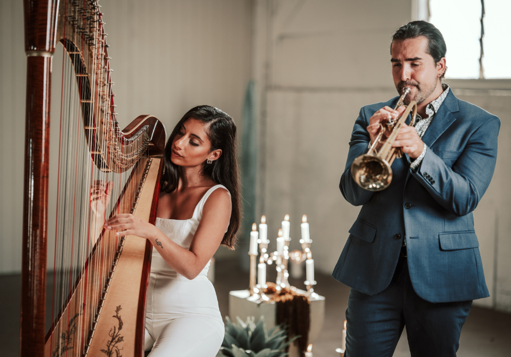 Harp Beat Wedding Harp Duo Hey Jack