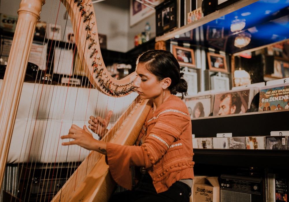 Lua Melbourne Harpist Wedding Hey Jack