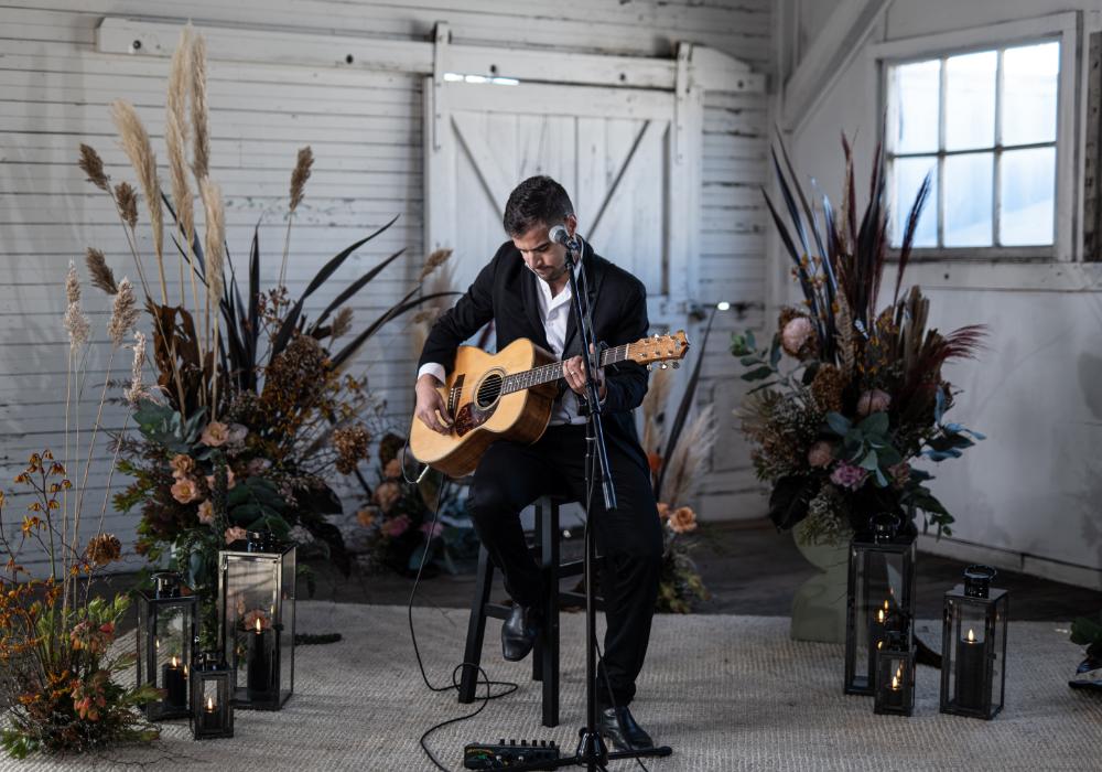 TJ Acoustic Soloist Wedding Singer Melbourne Hey Jack