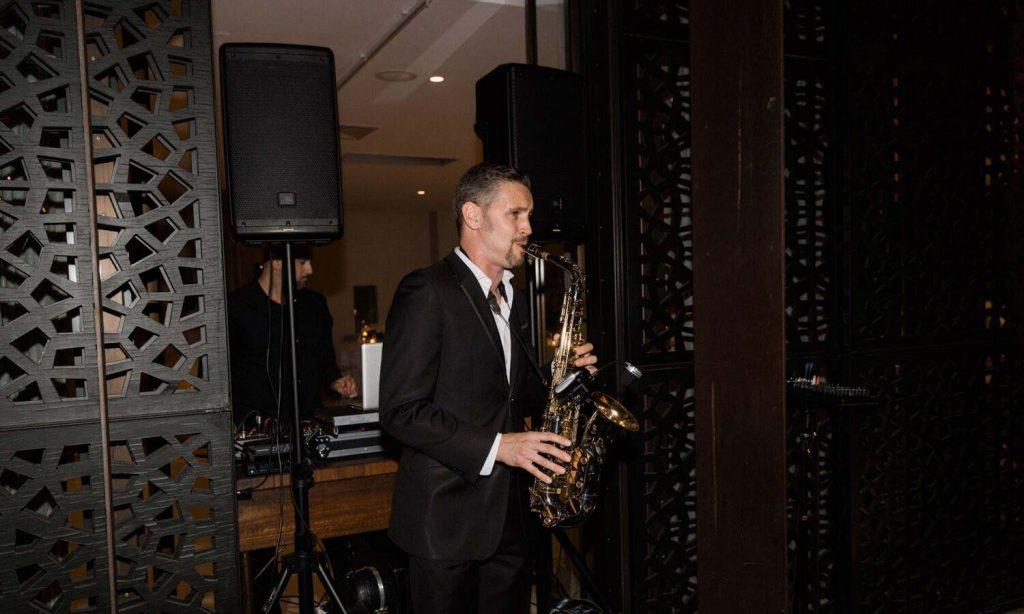 Jes And Tom Wedding Saxaphone