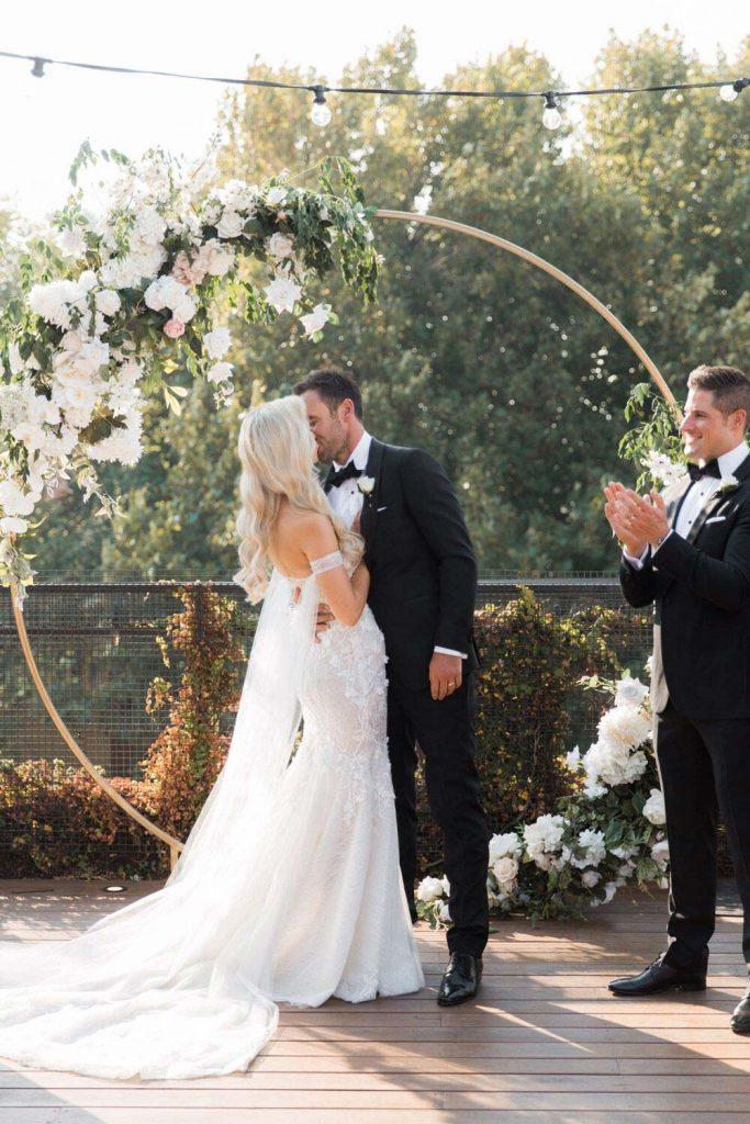 Jess & Tom Wedding Ceremony at Melbourne City 2