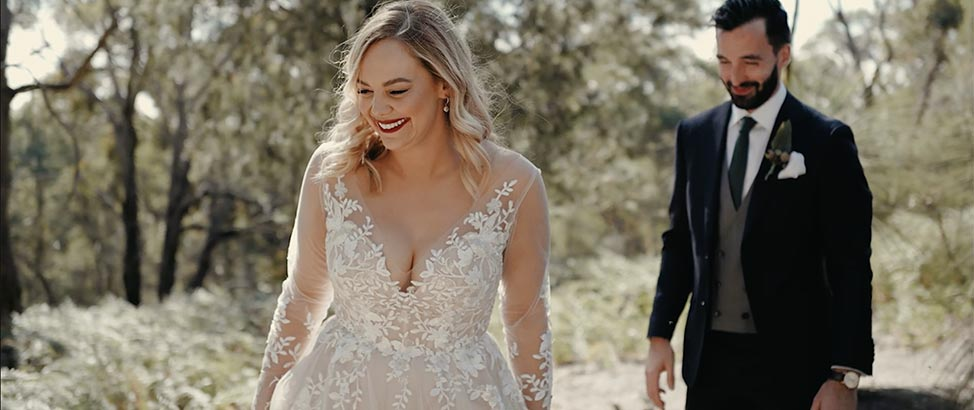 Tanya + Tristan wedding highlights image