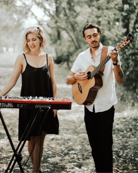 Wedding Acoustic Duo and DJ Hey Jack1
