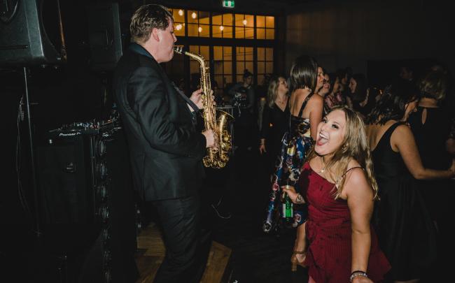Wedding DJ and Sax