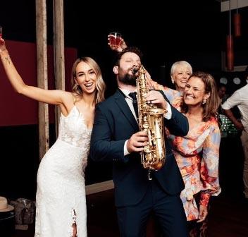 Wedding DJ & Sax Melbourne