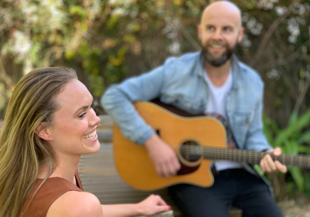 Garland Acoustic Wedding Duo Hey Jack